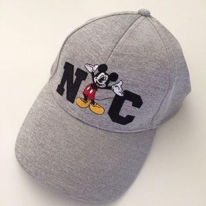 Disney cap/hat NWT Mickey Mouse NC Gray
